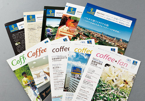 Communication activities aiming to deepen the joy of coffee.